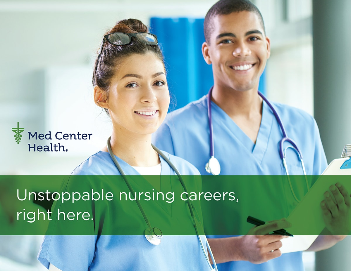 Unstoppable Nursing careers, right here.