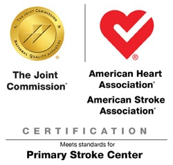 Logo for Joint Commission-American Heart Association Primary Stroke Center