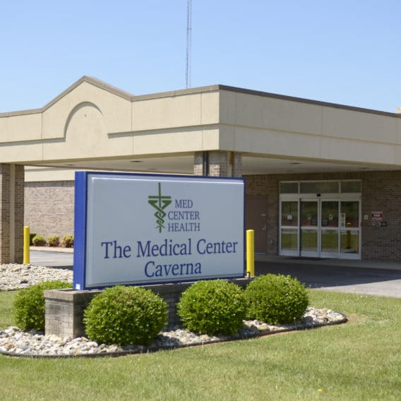 Exterior view of The Medical Center at Caverna.